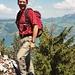 Fenek auf dem Gipfel der Mittagfluh
