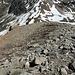 Abstieg zur Fuorcla Laviner