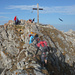 Kurzer Grat zum Gipfel (Foto: Reiner Beck)