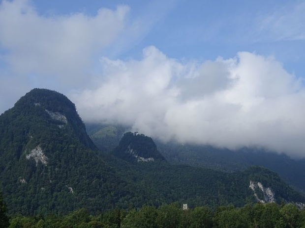 Seitenblick nahe Flintsbach