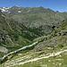Abstieg von der Hütte ins Tal
