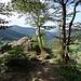 Aussichtspunkt bei den Rabenfelsen.