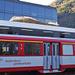 Schon am Bahnhof Visp schönes Wetter......