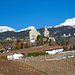 Kirche Venthône in Sicht