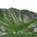 Karges Voralpen-Stillleben in grün und weiss