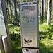 uno dei numerosi cartelli naturalistici