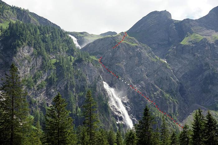 Klettersteig Engstligenalp : Engstligenalp mit engstligenfälle klettersteig route [hikr.org]