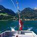 Auf dem Schiff von Murg nach Quinten