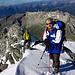 Auf dem Südgrat, kurz vor dem Gipfel