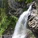 Rückblick zum Wasserfall Sprutz I