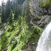 Rückblick zum Wasserfall Sprutz II