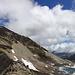 Fanellhorn und sein Südgrat, über welchen mich der Abstieg führte