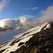 Wolkenfetzen setzen sich an «meinen» Gipfeln fest