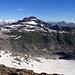 Güferhorn über dem Paradiesgletscher