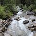 il torrente che scende dalla laterale val Cassana