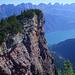 Ein kaum auffindbarer Gipfel: Der Gulmen, weit über dem Walensee