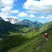 Bei den Bergwiesen der Hirschgehrenalpe.