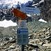 Ab 2680m beginnt die blauweiss markierte Route über den unschwierigen, spaltenarmen Glacier de Pièce hinauf zur Cabane des Vignettes.