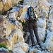 Werner im aufateig am Klettersteig