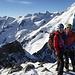 Piz Morteratsch Summit.<br />Dahinter Biancograt.