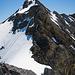 Rückblick zum Abstieg über den Westgrat vom P.3191 aus