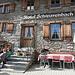 Ankunft im schmucken Berghotel Schwarenbach