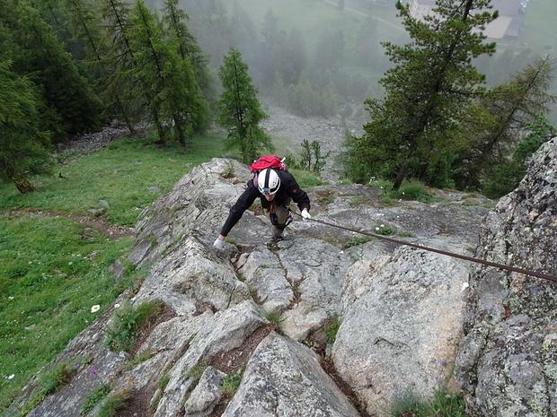 Klettersteig La Resgia : Klettersteig la resgia m u tourenberichte und fotos hikr