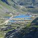 Blick zurück zum Gotthardpass