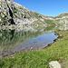 zum nächsten See, dem Lago d' Orsirora