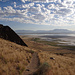 Der markierte Wanderweg auf den Frary Peak