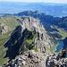 Die wilden Gipfel überm Fählensee