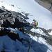 Alpinisti in discesa