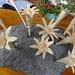Holz-Edelweiss auf der Alp Spilau