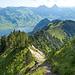 Aufstiegsweg...