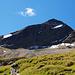 Die Nordseite des Fanellhorns