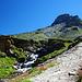 Auf dem Weg zum Guraletschsee, links könnte das Guraletschhorn sein