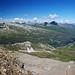 Blick vom Fanellgrätli Richtung Valsertal
