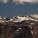 Und die Spitze rechts Monte Disgrazia