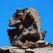 Eine Sphinx unweit des Fanellgrätlis