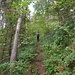 Steiler Aufstieg zum Gerensattel
