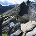 Il Pass de la Cruseta con il salto da cui si scende per andare alla Bocca de Rogna.