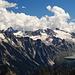 Stausee Lägh da l'Albigna, links hinten müsste der Monte Disgrazia sein