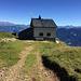 SAC Hütte. Das erste Ziel wäre erreicht