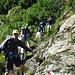 Bei der Abzweigung zum steilen Weg nach Cala (1750m)