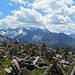 Petersköpfl 2679 m,<br />Blick nach Süden