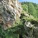 Courte section descendante peu après la sortie du Bächigrabe.