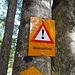 der Weg von Kien nach Kiental ist gefährlich