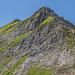Abstieg vom Lahnerkopf. Im Bild der oberste, etwas schrofige Abstiegsteil.