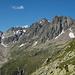 Links unten der Niedersee, etwas rechts oberhalb befindet sich die Leutschachhütte