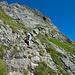 Im Abstieg zur Leutschachhütte